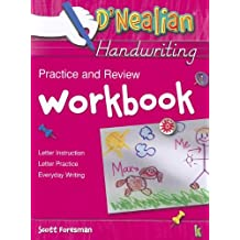 Amazon scott foresman books dnealian handwriting practice and review workbook grade k fandeluxe