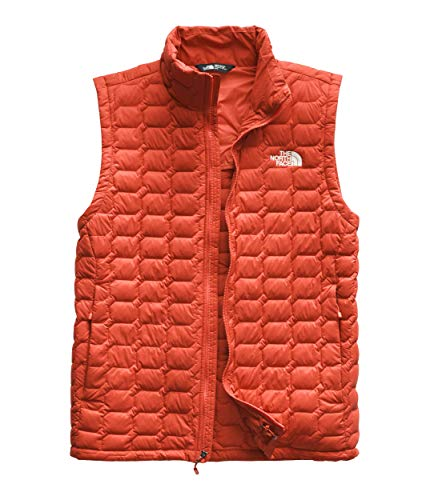 (The North Face Men's Thermoball Vest Zion Orange Matte Large)
