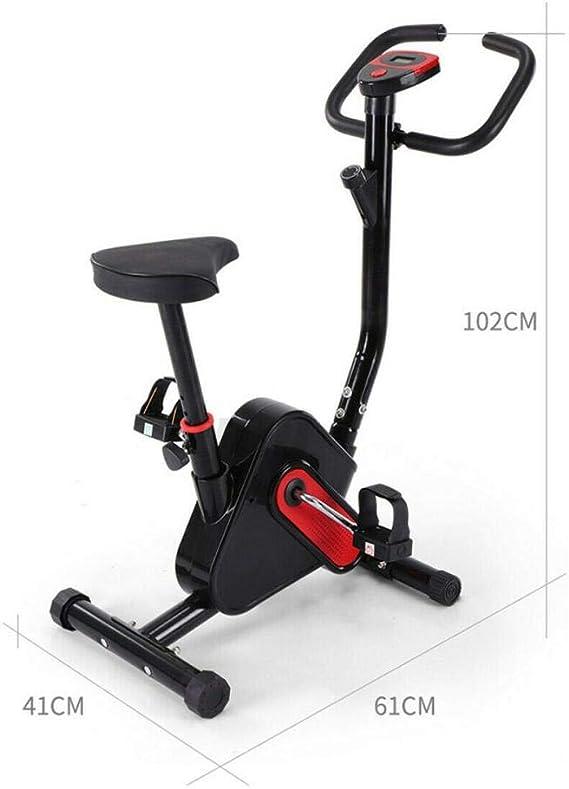 YOUSIS - Bicicleta estática de interior para fitness, ciclismo, entrenamiento cardiovascular, resistencia ajustable: Amazon.es: Deportes y aire libre