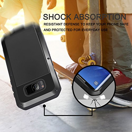 cheaper cd046 4580d Galaxy S8 Plus Case, Seacosmo Full Body Military Rugged Heavy Duty ...