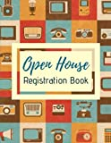 img - for Open House Registration Book: Retro Real Estate Agent Guest & Visitors Signatures Sign In Registry - Property Developers, Show Homes & Interior Designers book / textbook / text book