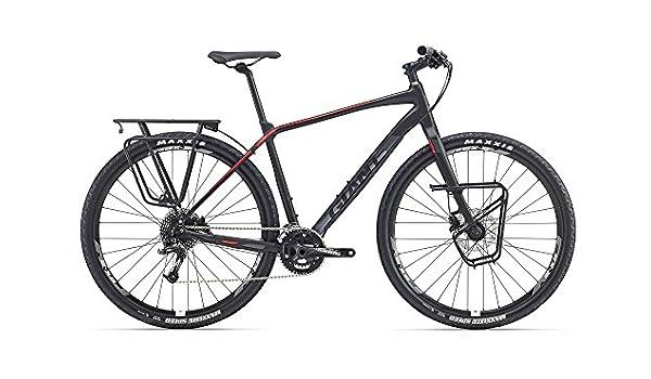 GIANT Tough Road SLR 1 71.12 cm Bicicleta de Colour Negro/Rojo ...