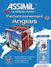 Pack Perfectionnement Anglais (1 livre + CD audio MP3) par Anthony Bulger