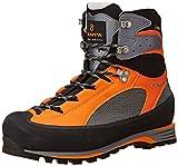 Scarpa Men's Charmoz Pro GTX Mountaineering Boot, Grey/Orange, 40 EU/7.5 M US