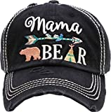#5: Funky Junque Womens Baseball Cap Distressed Vintage Unconstructed Embroidered Dad Hat