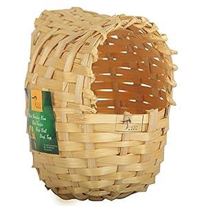 Torri Finches and Budgies Bamboo Hut Bird Nest