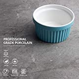 Sweese 501.002 Porcelain Souffle Dishes, Ramekins