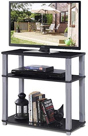 COSTWAY Mesa para TV Mueble Estante Soporte Televisor Salón ...