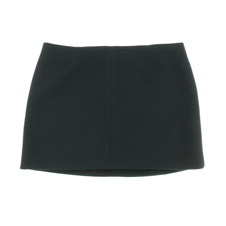 Theory Keeta Tomar Textured Mini Skirt in Uniform Navy Blue