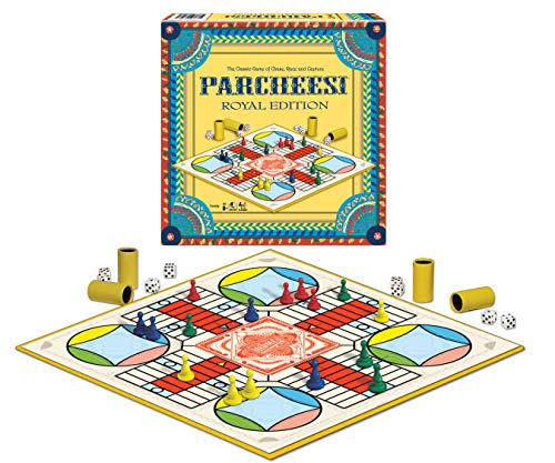 Winning Moves Games Parcheesi Royal Edition]()