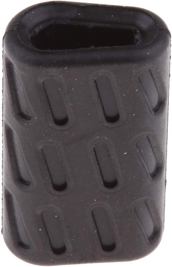 Tenlacum Black Shifter Gear Shift Lever Rubber Tip for Ducati 696 796 795 1100