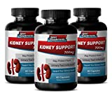metabolism accelerator - KIDNEY SUPPORT - antioxidant blend supplements - 3 Bottles (180 Capsules)