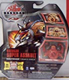 Bakugan QUAKIX GOREM VIBRATES RED (FACTORY SEALED PACKAGE WITH CARDS)