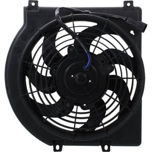 MAPM Premium RODEO 98-04 A/C FAN SHROUD ASSEMBLY, V6, A.T.