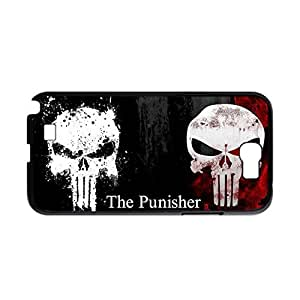 Generic Printing With Bloody The Punisher Skull Logo Smart Design Back Phone Case For Girly For N7100 Samsung Choose Design 2