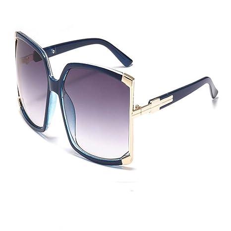 Yangjing-hl Gafas de Sol cuadradas Mujeres Diseñador de la ...