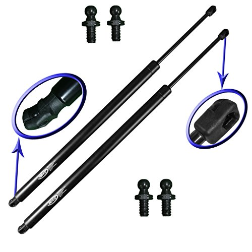 Two Rear Hatch Wagon Liftgate Gas Charged Lift Supports For 2001-2010 Crysler PT Cruiser Wagon. Left Or Right Side With 4 Upgraded Mounting Studs. (Pt Cruiser Right Door)
