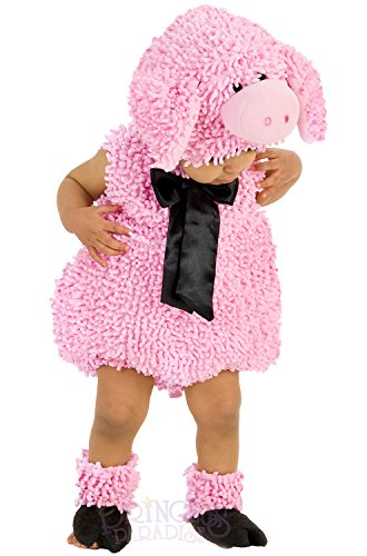 Homemade Halloween Costumes For Little Girls (Princess Paradise Baby Girls' Premium Squiggly Piggy, Pink, 12-18)