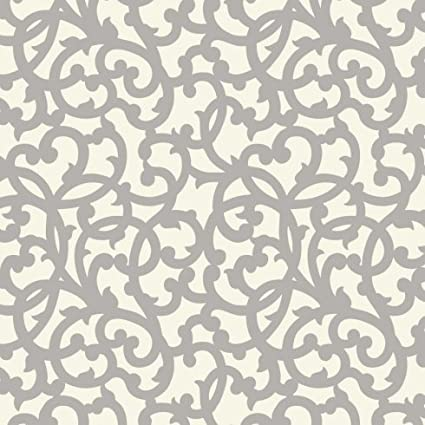 Cutting Edge Stencils Venetian Scroll Craft Stencil   Size MEDIUM   Easy  DIY Wall Designs