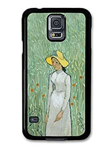 Vincent Van Gogh Girl in White Painting Artist Art Vintage case for Samsung Galaxy S5