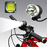 1200 Lumen Rechargeable Waterproof Head Torch Bike Light Bicycle Led Flashlight