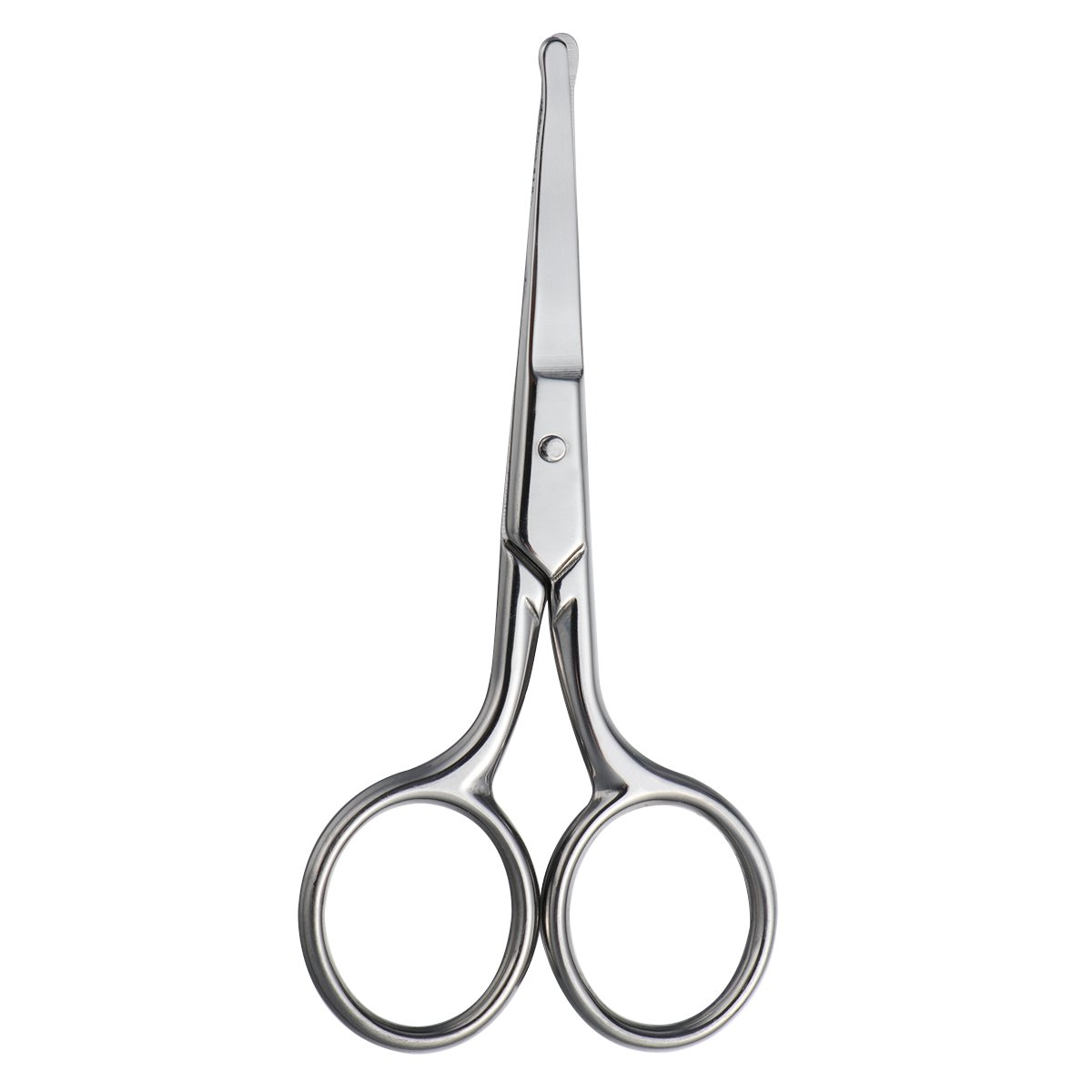 ROSENICE Nose Hair Scissors Safety Scissor with Round Tip for Facial Hair Eyebrow Beard Mustache