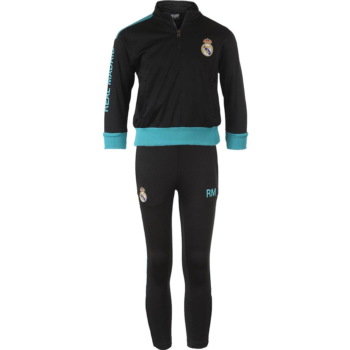 Real Madrid rma-se-8001 N B Set Trainingsanzug Kinder