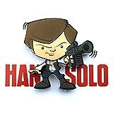 3D Light FX Star Wars Han Solo 3D Deco Mini-Sized