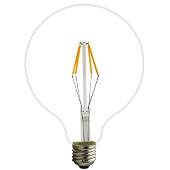 Bombilla LED G125, E27, 4 W, 6 W, 8 W, 220