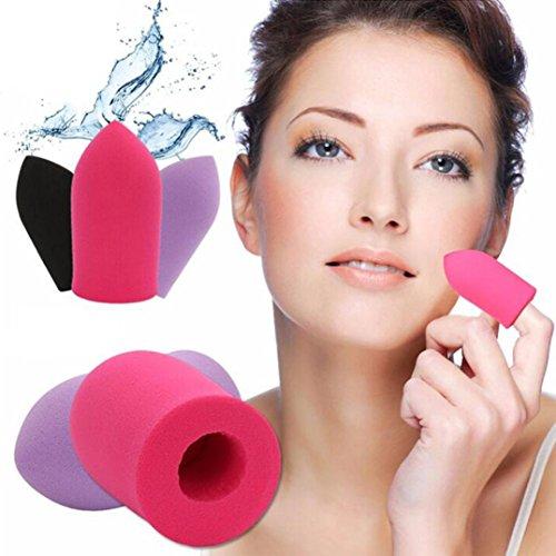 Franterd Finger Puffs - Flawless Makeup Blender Foundation Powder Puff Bullet Puff Sponge
