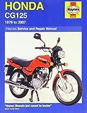 img - for Honda CG125 Service and Repair Manual: 1976 to 2007 (Haynes Service and Repair Manuals) book / textbook / text book