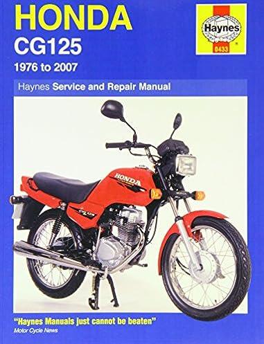 honda cg125 1976 2007 1976 to 2007 haynes service and repair rh amazon co uk Honda Motorcycles Honda Motorcycles