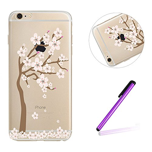 iPhone 7 Hülle Silikon,iPhone 7 Hülle Glitzer,iPhone 7 Crystal TPU Bumper Case Soft Transparent Silikon Gel Schutzhülle Cover,iPhone 7 Hülle (4.7 Zoll) Cristall,EMAXELERS iPhone 7 Bling Cristall Diama TPU 78
