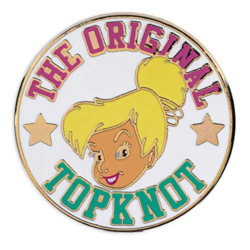 Disney Tinker Bell The Original Top Knot Pin