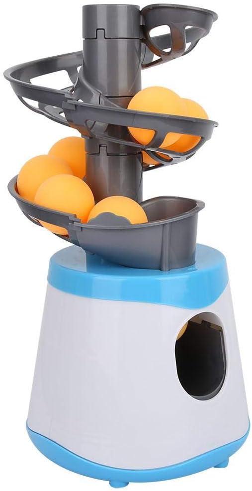 VGEBY1 Lanzador de Tenis de Mesa, máquina de Entrenamiento con Robot de Pelota de Ping-Pong para los Amantes del Principiante de Ping-Pong