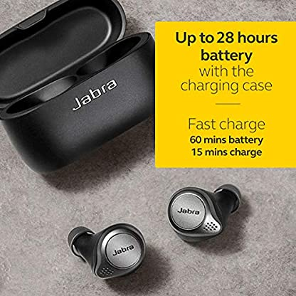 Jabra Elite 75t Earbuds Alexa Enabled True Wireless Earbuds With Charging Case Titanium Black Bluetooth Earbuds With A More Comfortable Secure Fit Long Battery Life And Great Sound Quality Rfsignals