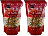 Trader Joe's Gluten Free Rice Cracker Snack Mix Medley, 8 oz Bag (Pack of 2)