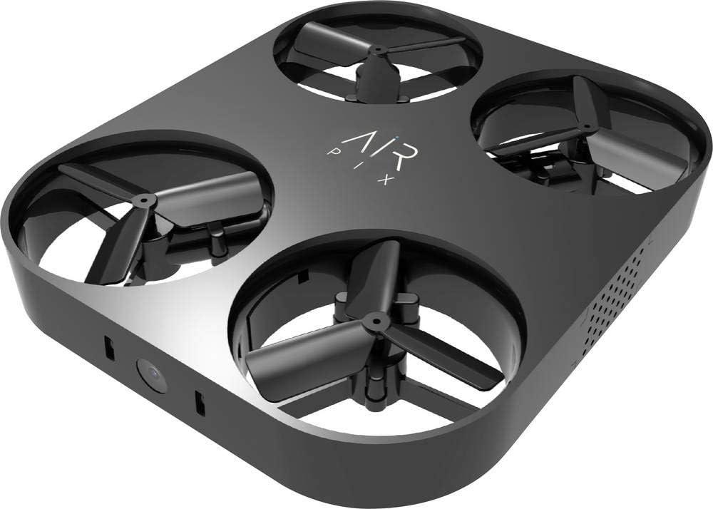 opaco Alluminio Airselfie Quadricottero Per foto e riprese aeree Nero