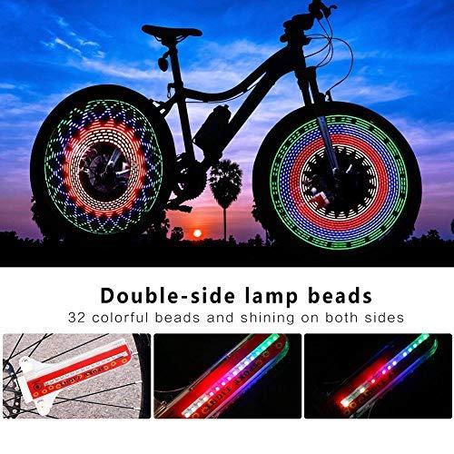 Queta Bicicletta Hot Wheels Bicicletta Wheel Spoke luci Decorazione luci
