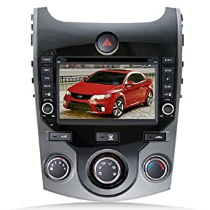 Techtick For 2009-2012 Kia Cerato /Forte Koup 5-door DVD Player with GPS navigation and 7 Inch Digital HD touchscreen and Bluetooth