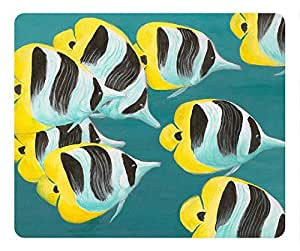 Butterflyfish Fashion Masterpiece Limited Design Oblong Mouse Pad by Cases & Mousepads