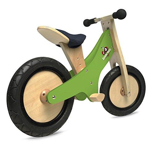 Buy Kinderfeets Chalkboard Wooden Balance Bike, Classic Kids Training No Pedal Balance Bike, Green (online)