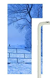 Samsung Galaxy S5 Snow Scenery PC Custom Samsung Galaxy S5 Case Cover White