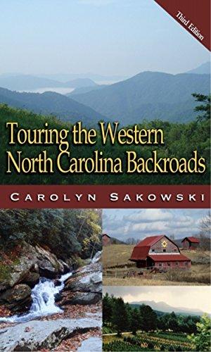 Touring Western North Carolina (Touring the Backroads) (North Carolina Historic Maps)