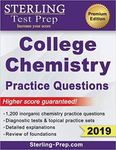 Sterling Test Prep College Chemistry Practice Questions