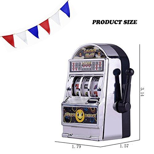 Theshy Education Toy Mini Lucky Jackpot Slot Machine Fun Gift Fruit Slot Machine Dice Cards Games