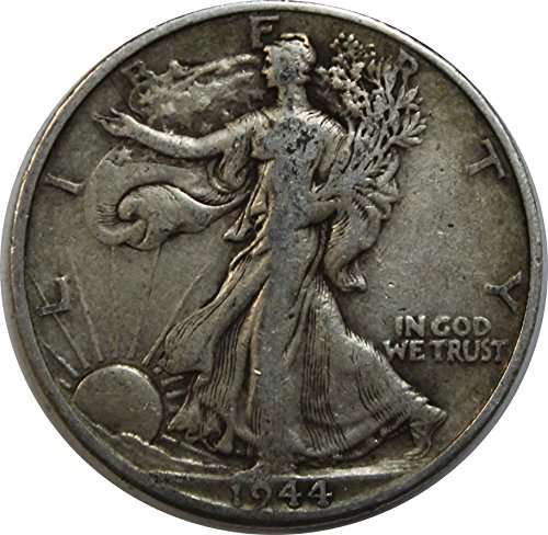 1944 D Walking Liberty Half Dollar 50c Very Fine (1944 Walking)