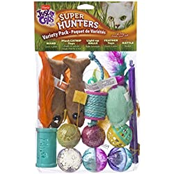 Hartz Just For Cats Super Hunters Toy Variety Pack