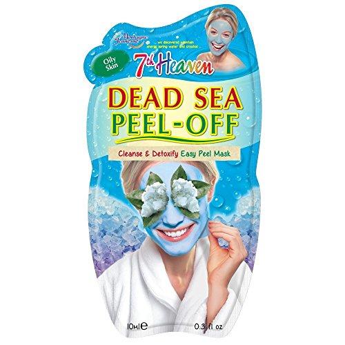 7th Heaven Facial Masks (Pack of 12, Dead Sea Peel-Off .3 oz)