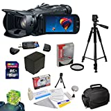 Canon VIXIA HF G30 HD Camcorder with HD CMOS Pro/32GB Internal Flash Memory plus Best Value Accessory Kit: 16GB High Speed SDHC Card + USB 2.0 Card Reader + 58MM HD UV Filter + Extra Battery + Professional 54